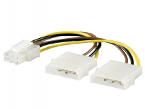 Power adapter for PCI Express graphics cards